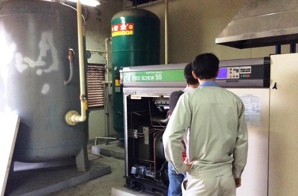 sửa chữa máy nén khí Hitachi