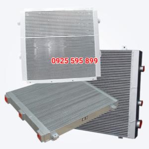 Két giải nhiệt máy nén khí trục vít Compkorea