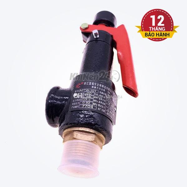 Van an toàn có gạt A27W-10T-DN25 (phi 34mm)