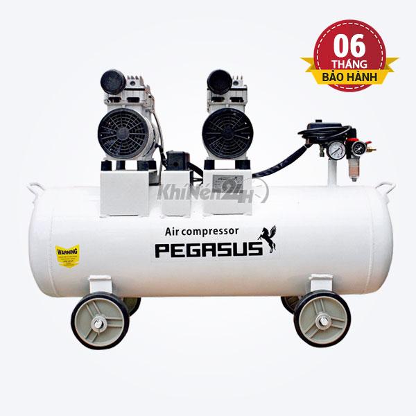 Máy nén khí không dầu giảm âm Pegasus TM-OF550x2-70L