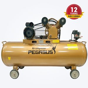 Máy nén khí dây đai Pegasus TM-V-0.25/12.5-120L
