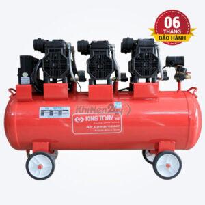 Máy nén khí không dầu giảm âm Kingtony KI-110C/F-3 (110 lít)